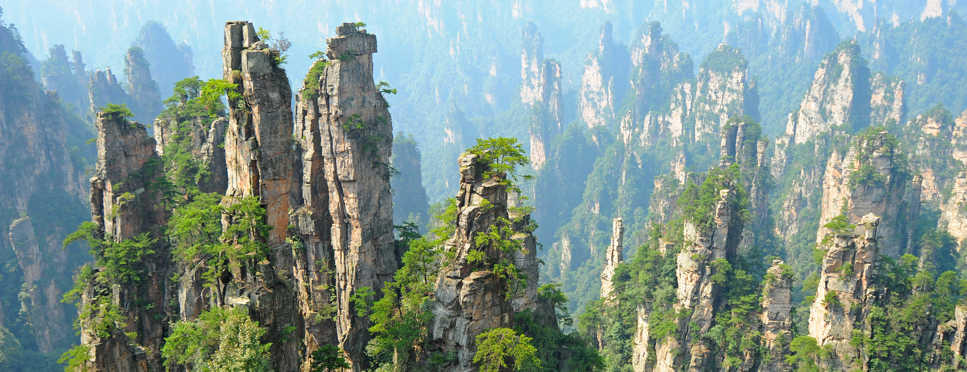 Kina – Avatarbergen i Zhangjiajie