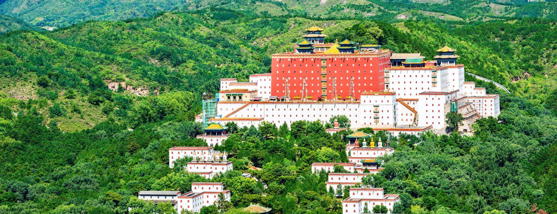 Chengdes palats och tempel