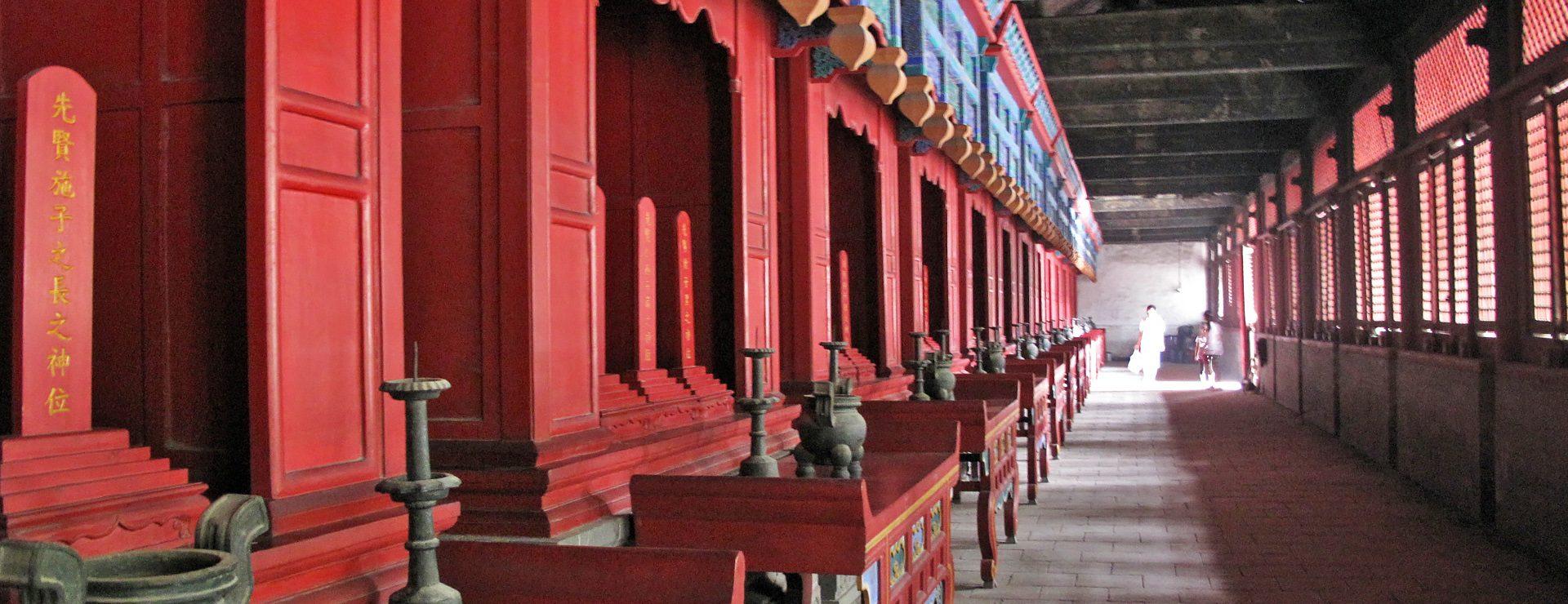 Konfucius tempel i Qufu