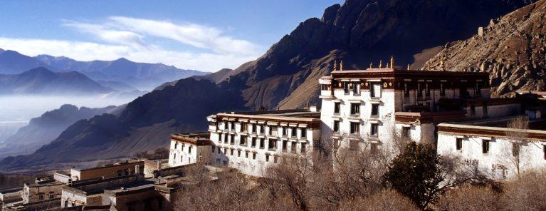 Drepungklostret i Lhasa