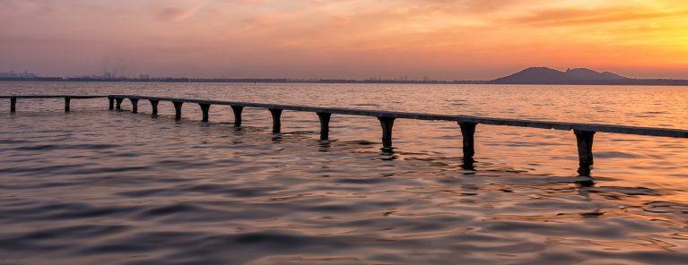 Östra sjön i Wuhan