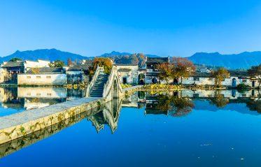 Byarna Xidi och Hongcun i Anhui