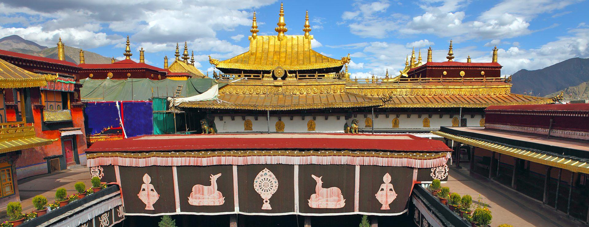 Jokhangtemplet i Lhasa