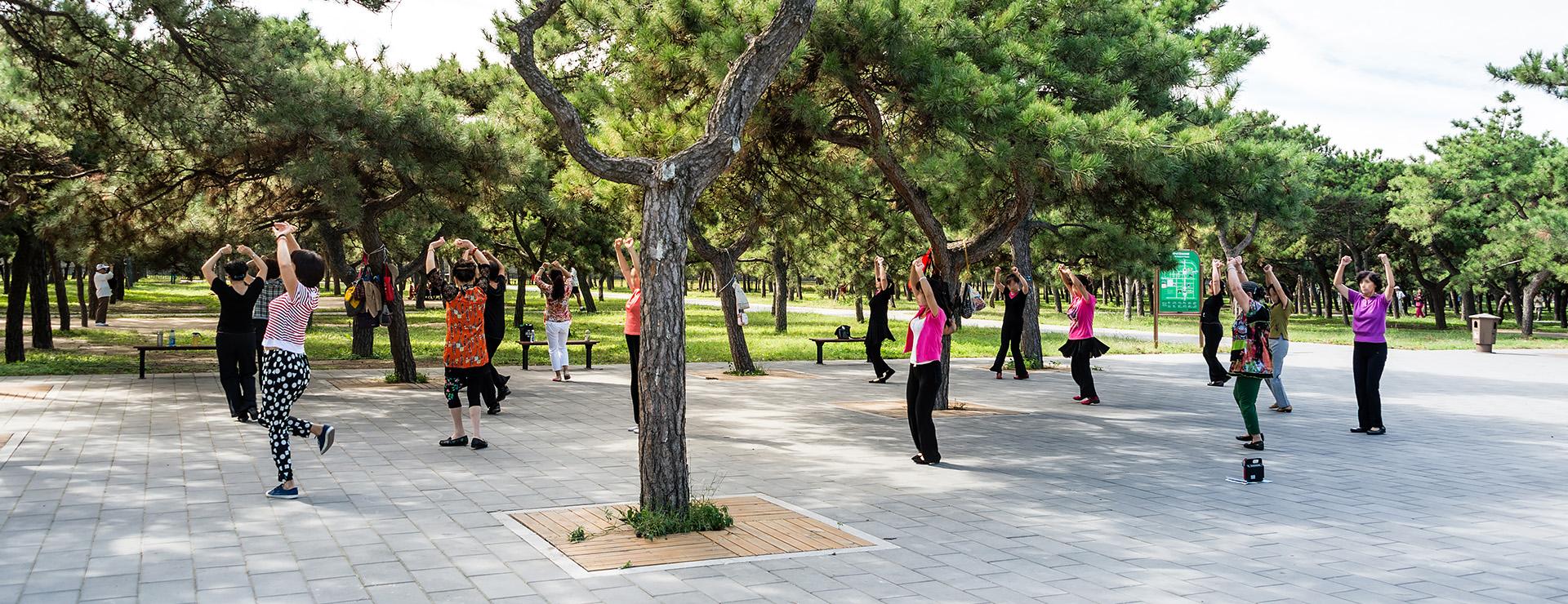 Peking – morgongymnastik