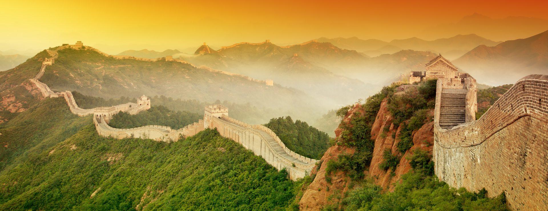 Kinesiska muren, norr om Peking