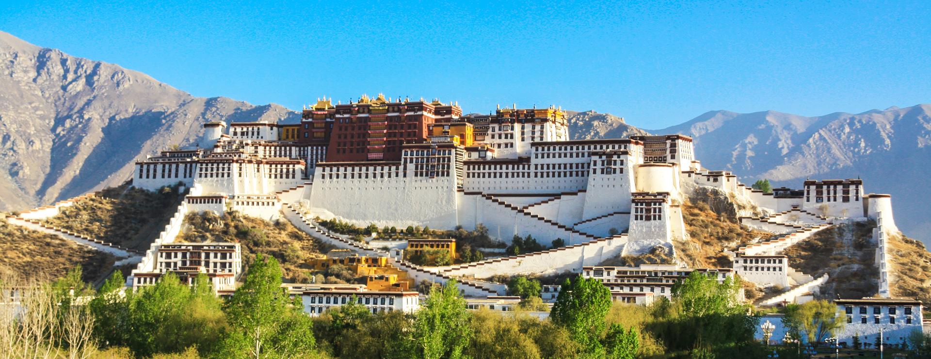 Tibet – Potalapalatset