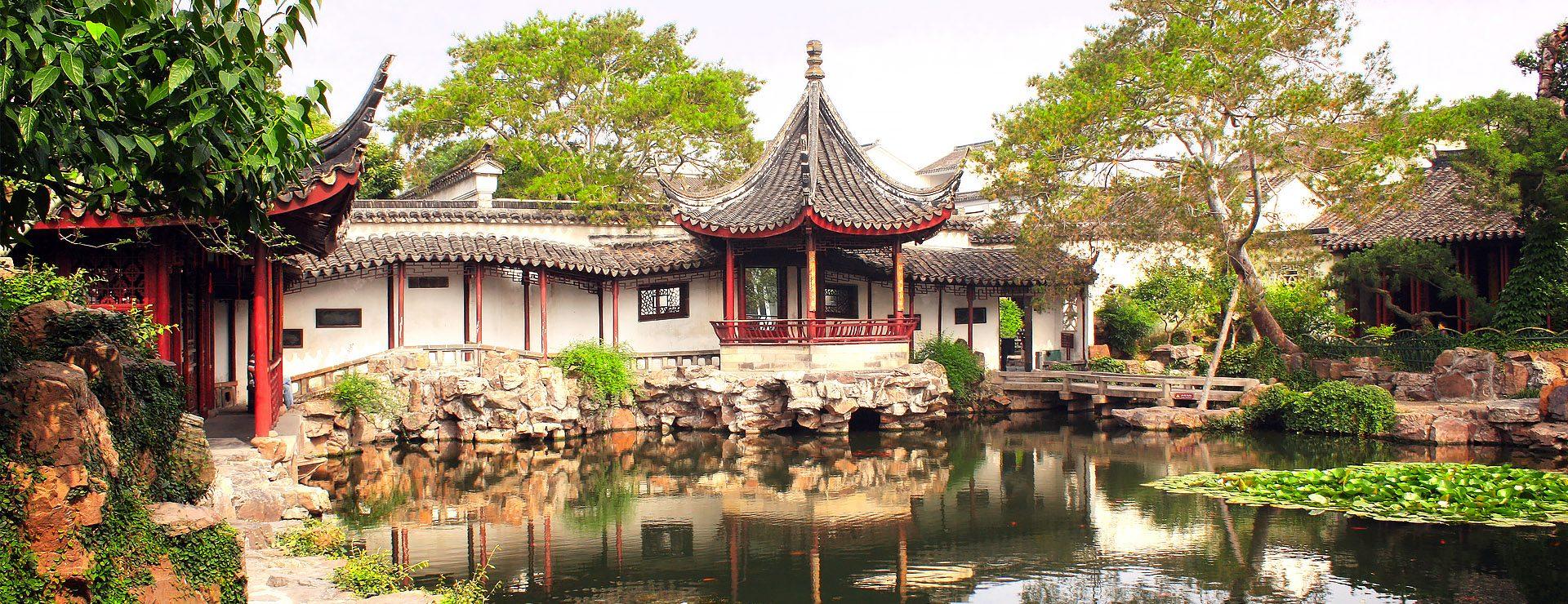 Suzhous trädgårdar