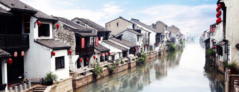 Gamla stan i Suzhou
