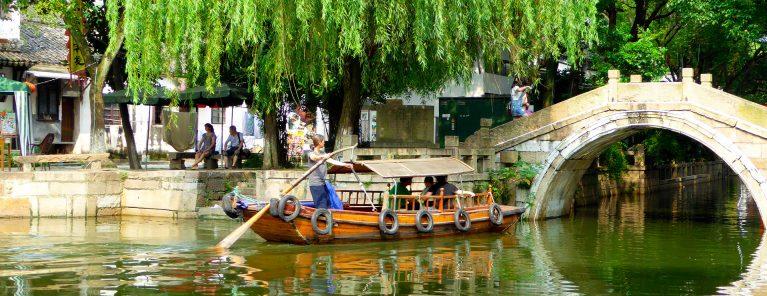 Vattenstäderna utanför Shanghai