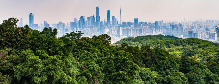 Vita molnens berg (Guangzhou)
