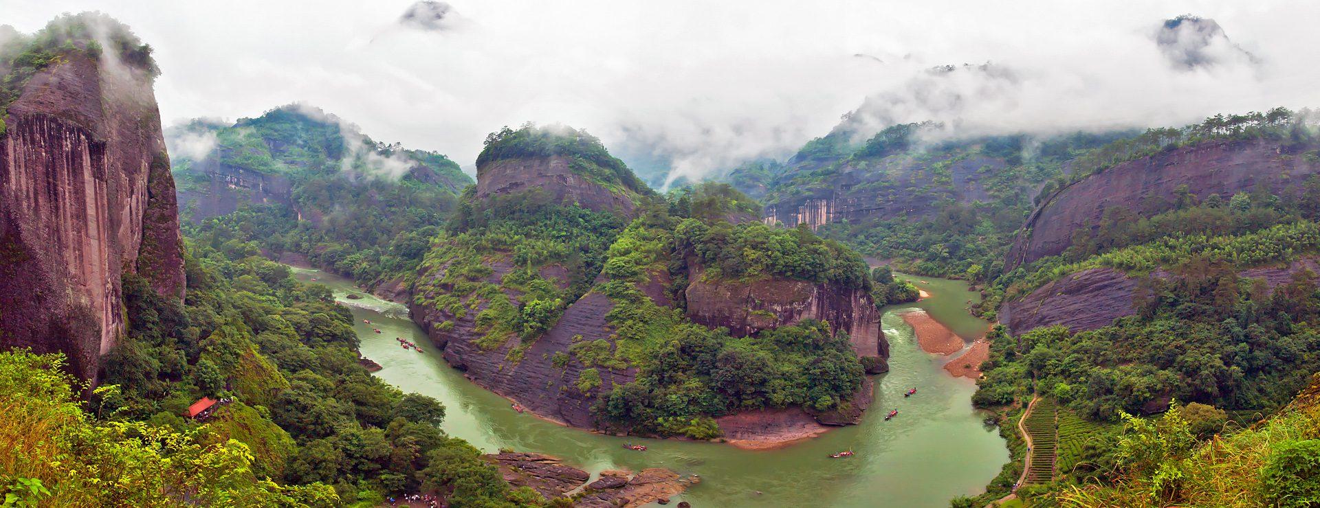 Wuyi bergsområde