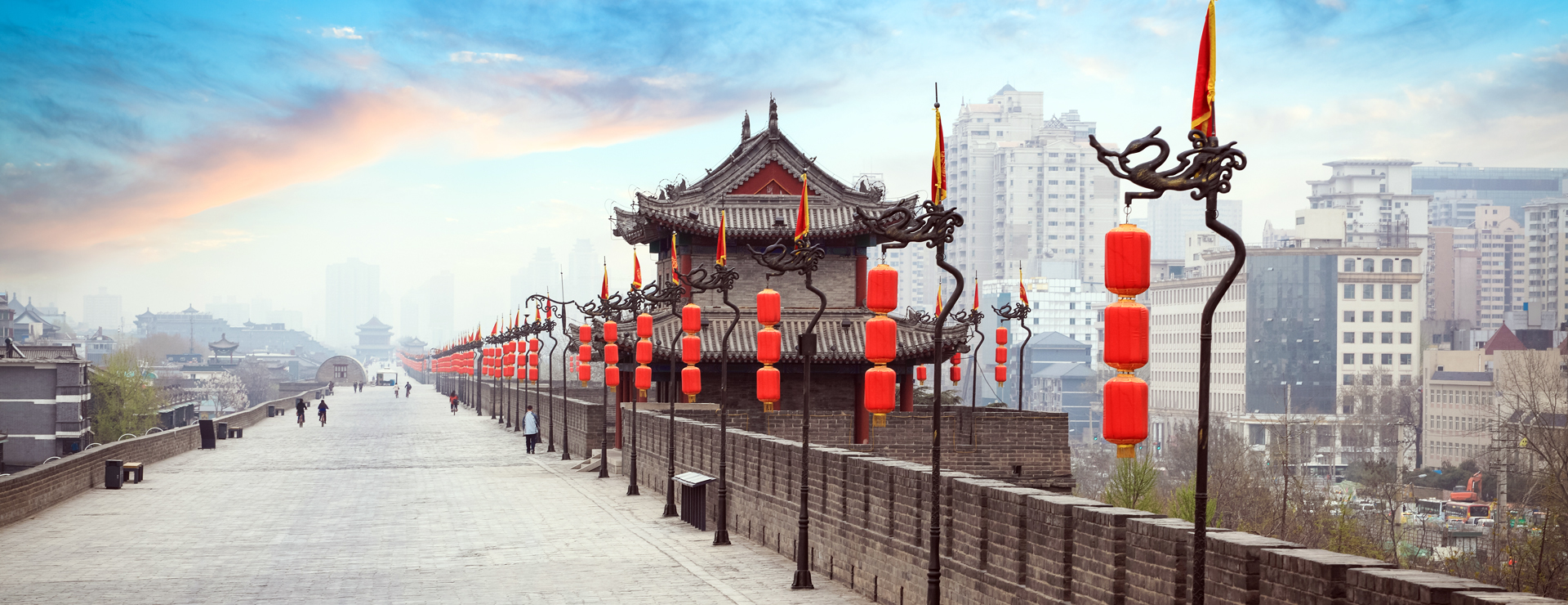 Xian – Stadsmuren