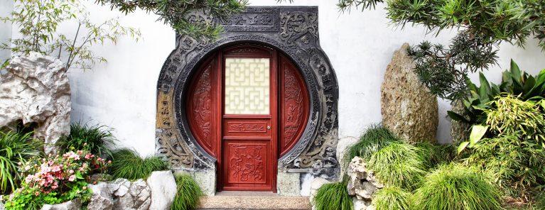 Yu Yuan trädgård i Shanghai