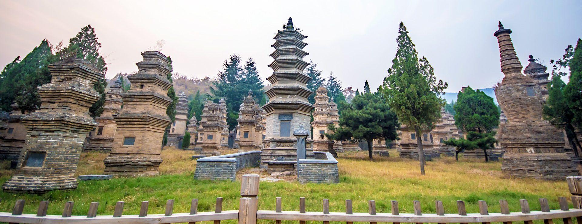 Dengfeng och Shaolintemplet